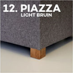 Pootje 12: Piazza Licht Bruin