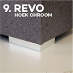 Pootje 9: Revo Hoek Chroom